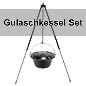 Gulaschkessel Set