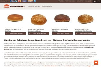 Burgerbrötchen online bestellen