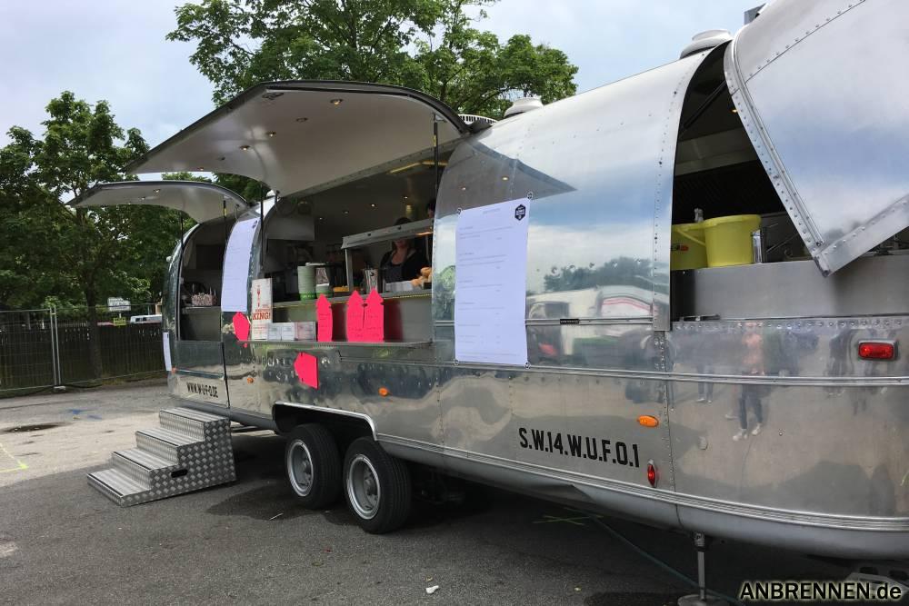 Ein Airstream darf auf dem Foodtruck Festival natürlich nicht fehlen
