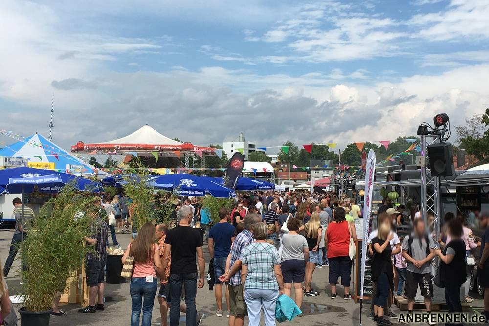 Das Foodtruck Festival in FFB war sehr gut besucht